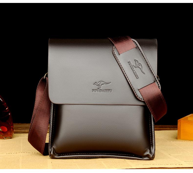 FOYIDAISHU Men's Luxury Leather Bags – Zoulnaa